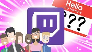 How to change Username & Display Name on Twitch (2018)