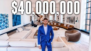 INSIDE the $40M LARGEST APARTMENT in New York City