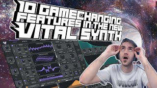 My Top 10 Features in The New Vital Synthesizer [Out on NOV 24]