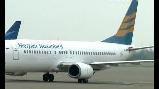 Dinyatakan Tak Pailit, Merpati Airlines Kembali Terbang