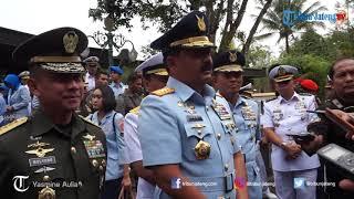 Sambut HUT ke-73 TNI, Panglima TNI Ziarah ke Makam Soeharto di Astana Giribangun Karanganyar