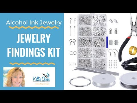 Jewelry Making Findings Starter kit Tool Set