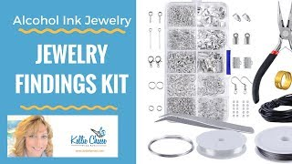 Jewelry Making Findings Starter Kit Tool Set