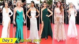 Cannes Film Festival 2017 | Day 2 | Red Carpet Fashion | Celebrity Dresses