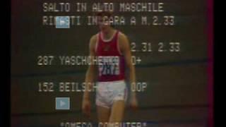 Vladimir Yashchenko (part 1) - Last King of the straddle technique / high jump