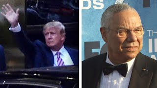Trump Goes After Colin Powell's Legacy