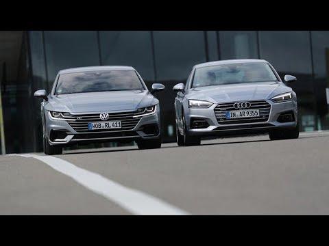 Audi A5 Sportback Лифтбек класса D - тест-драйв 5