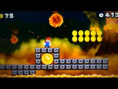 New Super Mario Bros 2 Walkthrough - World 5-Ghost House & Secret