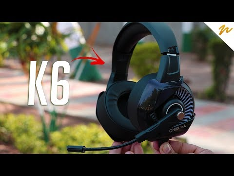 ONIKUMA K6 PC Gaming Headset with Stereo Surround Sound