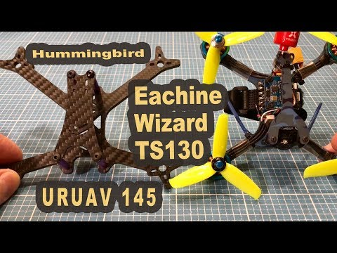 Eachine Wizard TS130 URUAV Hummingbird 145