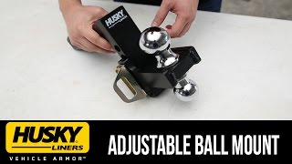 In the Garage™ with Total Truck Centers™: Husky Liners™ Adjustable Ball Mount
