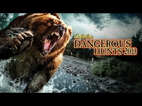 Cabela's Dangerous Hunts 2013 Maneater Demo Gameplay Commentary Xbox360 Mp3