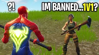 KID BANNED FROM FORTNITE CHALLENGED ME TO A BUILD BATTLE! (is he good?)