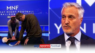 How to perform CPR   David Ginola & Jamie Carragher learn how to potentially save a life