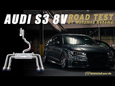 The iPE catback exhaust for Audi S3 8V