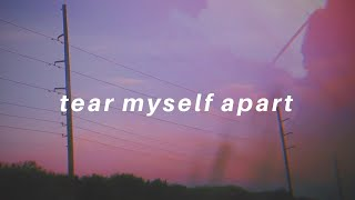 tear myself apart || Tate McRae Lyrics