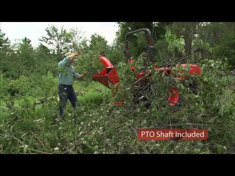 Product Video, Self-Feeding 3pt Hitch Wood Chipper Shredder