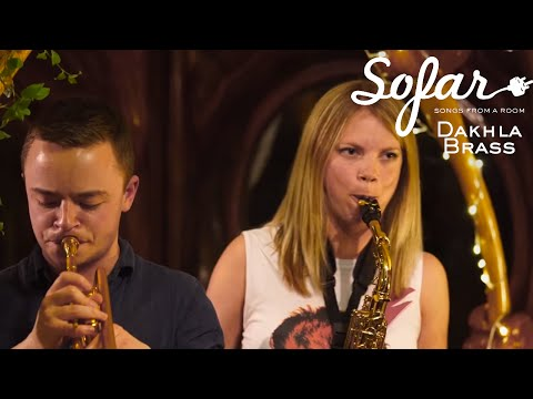 Dakhla Brass - The Order Of The Elephant | Sofar Bristol online metal music video by DAKHLA BRASS