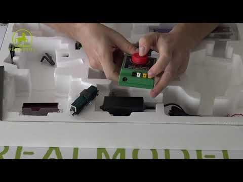 Unboxing starter set scala N analogico art. 931705