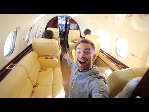 Chartered a Jet for $21,000
