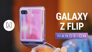 Samsung Galaxy Z Flip Hands-on: Foldable Glass!