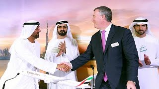 Emirates sign 13 billion euro deal for 40 Boeing jets