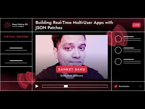 Image thumbnail for talk Building Real-Time Multi-User Apps With JSON Patches