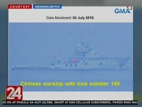 AFP: Tuloy sa paglayag ang mga warship ng China sa ating teritoryo  nang walang paalam | 24 Oras