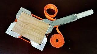Ленточная струбцина для склейки рамок своими руками