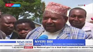 Nyeri county residents meet their leaders to give their opinion on BBI