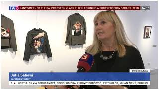Textile Art of Today on TA3 (Slovak News Channel)