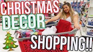 CHRISTMAS DECOR SHOPPING 2016!!