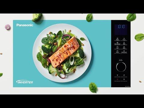 Panasonic Inverter-Mikrowellen - Die neue Art zu kochen