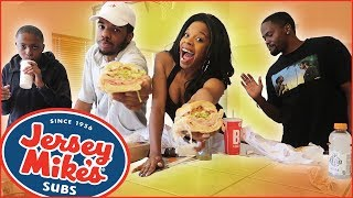 Where Have We Been?! + Live Baby Shower Info! (Jersey Mike's) - MAV3RIQ Fam Mukbang #7