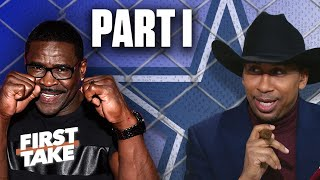 The best of Stephen A. vs. Michael Irvin and the Cowboys (Part 1) | First Take