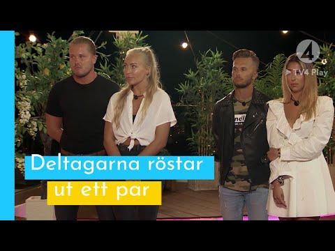 Tittarna har röstat - ett par dumpas! I Love Island Sverige 2019
