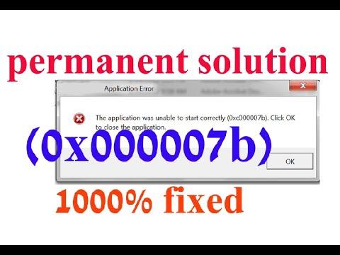 Download How To Fix 0xc00007b Error Windows Video 3GP Mp4 FLV HD Mp3
