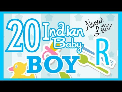 Baby Boy Names Start With R 2018 S Top15 Unique Baby Names 2018
