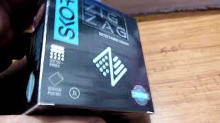 Unboxing Skore ZIGZAG Condoms