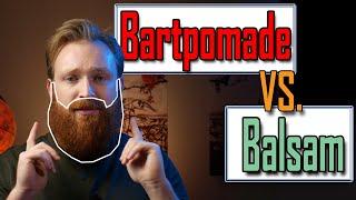 Die große Verwirrung zwischen Bartbalsam und Bartpomade und Bartbutter | Unterschied