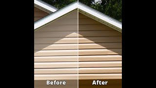 Vinyl Siding - A Home Remedy For Cleaning The Exterior Of Your HOME