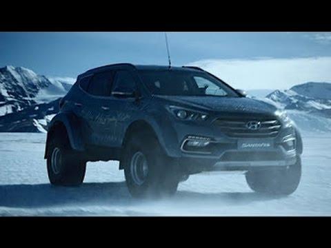 Hyundai Santa Fé percorre 5.800 km na Antártida