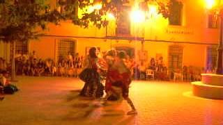 preview picture of video 'Matásteis Vuestro Rey! Danzas Villalba del Reey en Castillejo del Romeraal!'