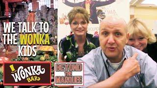 WONKA Kids Interview; Denise Nickerson, Julie Dawn Cole, Paris Themmen - Violet, Veruca, Mike TeeVee