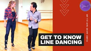GET TO KNOW LINE DANCING | GET FIT with KRISTY #4 ✨ GET FIT #37