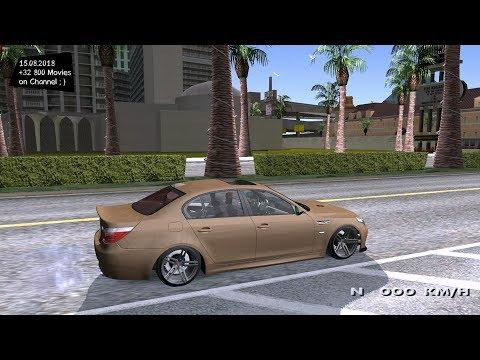 GTA SA BMW M5 E60 (MOD) Android - смотреть онлайн на Hah Life