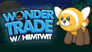 Stufful  - (Pokémon) - Wondertrade Wednesday LIVE w/ hi im twit! [01] SHINY STUFFUL! (Pokémon Sun & Pokémon Moon!)