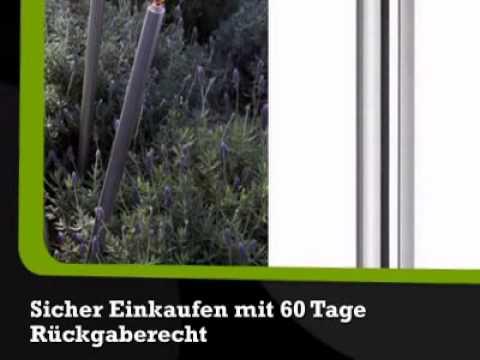 Gartenfackel PALOS Edelstahl - Ella-Home.de