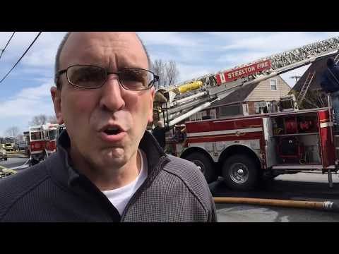 Person injured in Middletown house fire