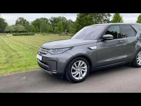 Landrover Discovery Commercial 3.0 TD V6 HSE with Rear Seat Conversion by Scot Seats Video